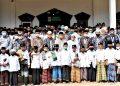 Momen Saat Gubernur Jambi Foto Bersama Santri Ponpes Jauharul Falah Al-Islamy. (Foto By : Humas Pemprov Jambi)