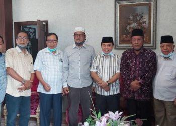 Al Haris dan Abdullah Sani bersama Abdullah Hich, HM Madel. (Jambi Independent)