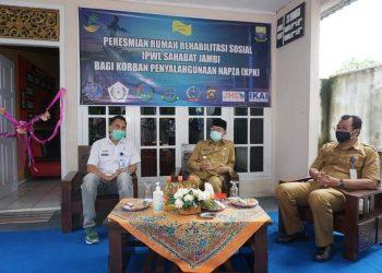 Gubernur Jambi Meresmikan Rumah Rehabilitasi Sosial IPWL Sahabat Jambi Bagi Korban Penyalahgunaan Napza (Dok: Humas Pemprov Jambi)
