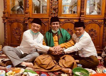 Mantan Gubernur Jambi, Hasan Basri Agus (HBA bersama Cagub Cek Endra dan Al Haris.
