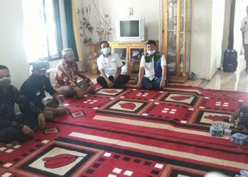 Cawagub Syafril Nursal bersama masyarakat Tanjabtim.