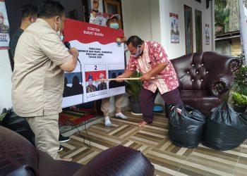 Warga Maro Sebo coblos Fachrori Umar-Syafril Nursal.