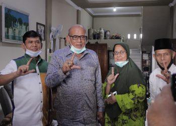 Cawagub Syafril Nursal bersama Politisi senior, Abdul Halim.